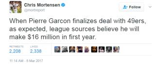 Garcon deal